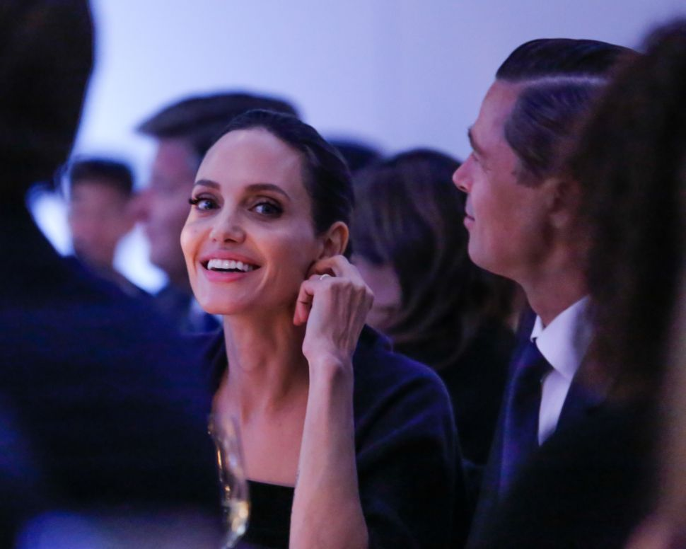 Angelina Jolie and Brad Pitt Made a Rare New York Appearance Last Night
