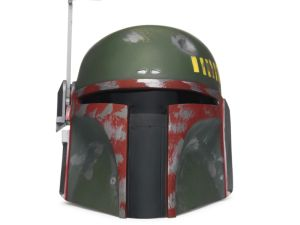 A signed Boba Fett helmet, set to hit auction at Sotheby's.
