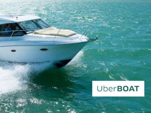 Set sail in style for Art Basel 2015 (Photo: Uber).