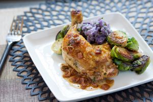 Chicken with purple potatoes from Blue Apron (Photo: Courtesy Blue Apron).