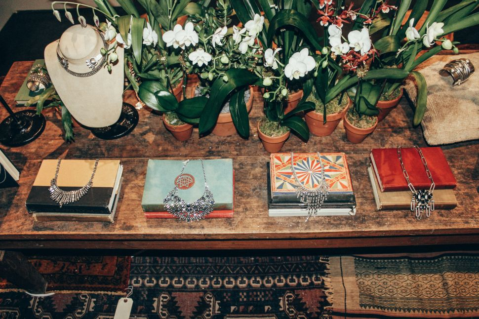 Shop Conversation Jewelry and Vintage Finds at DANNIJO's Holiday Pop-Up