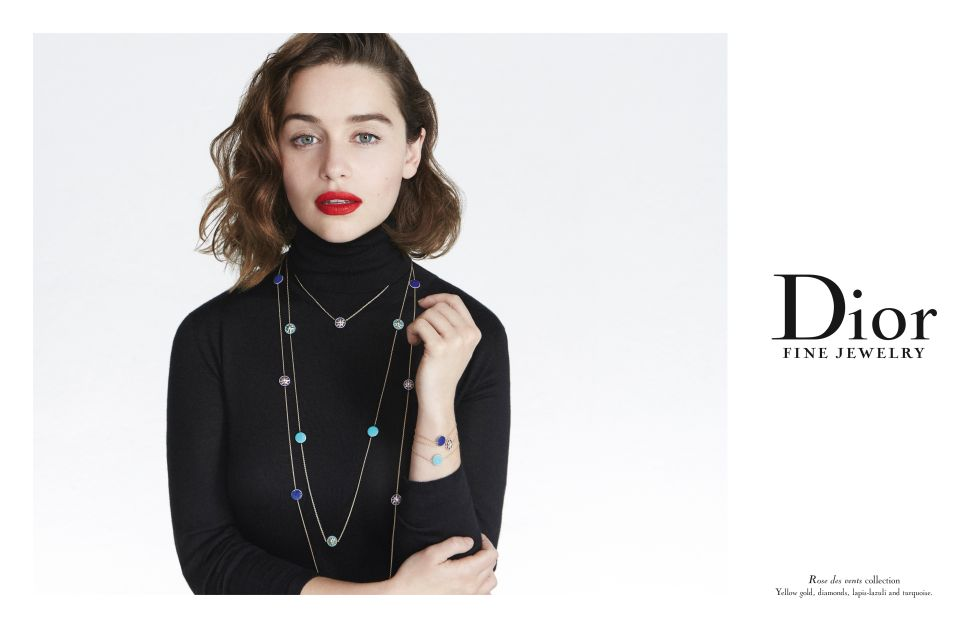 Mother of Dragons Models Mother-of-Pearl for Dior Fine Jewelry
