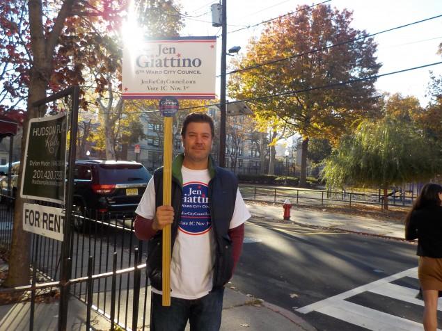 Hoboken Election: Giattino's Family Canvases for the Councilwoman