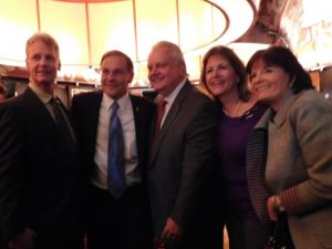 The Jon Bramnick event on Tuesday was well-attended by Republicans.