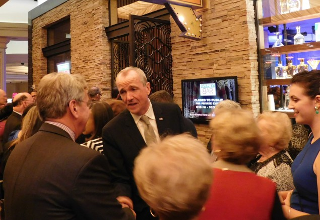 With Gov Run Looming, Murphy Event Packs Borgata