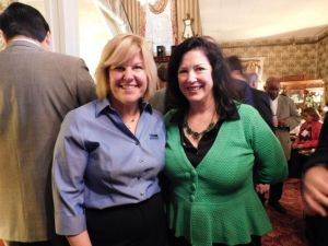 Colleen Mahr and Bernadette McPherson held an event at the Irish Pub.