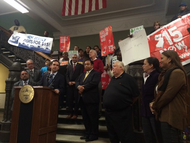 Fulop and the 'Fight for Fifteen'