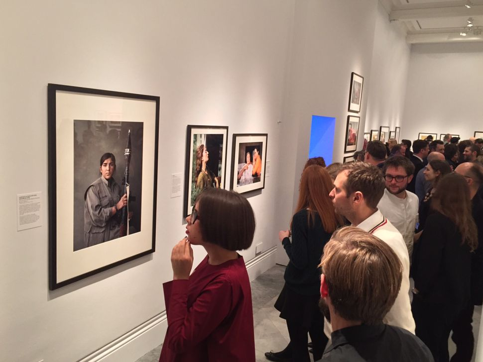 Photo Banned From Instragram on View Now in London's National Portrait Gallery