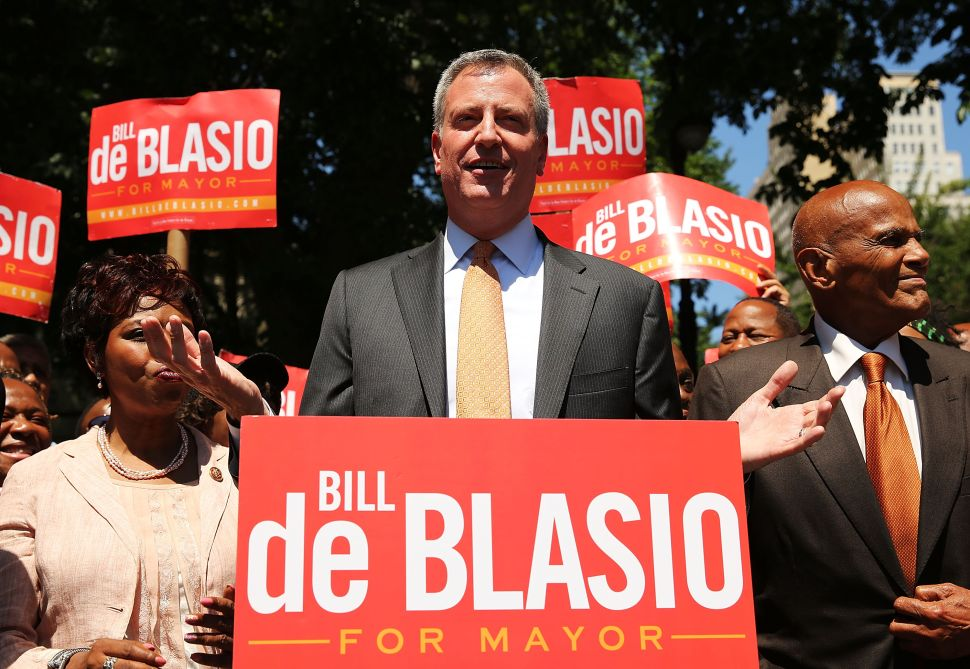 Does Bill de Blasio Have Enough Friends?