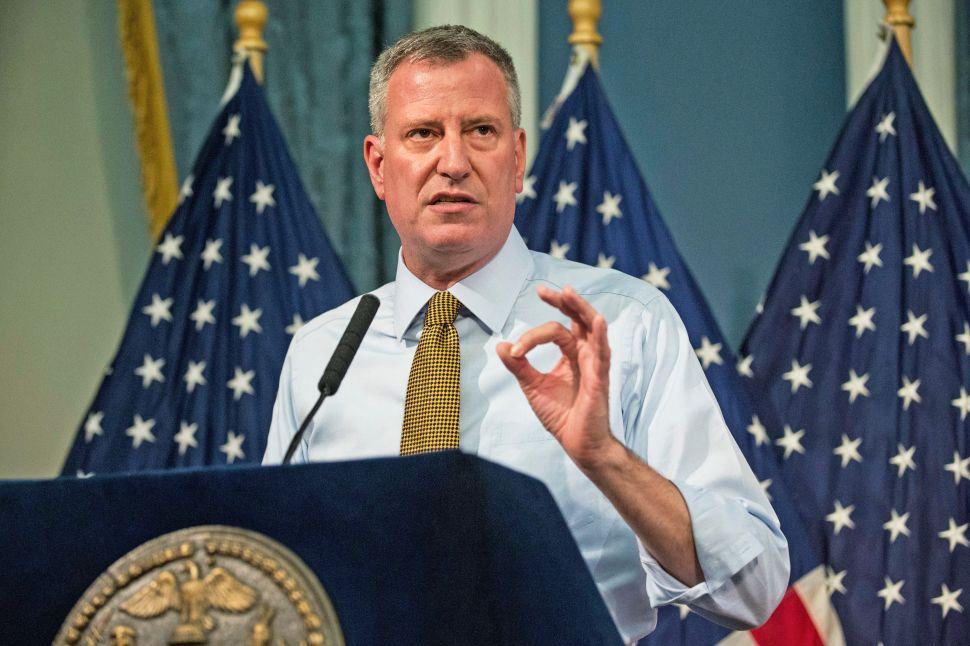 Mayor Bill de Blasio Will Take Questions Weekly on the Brian Lehrer Show