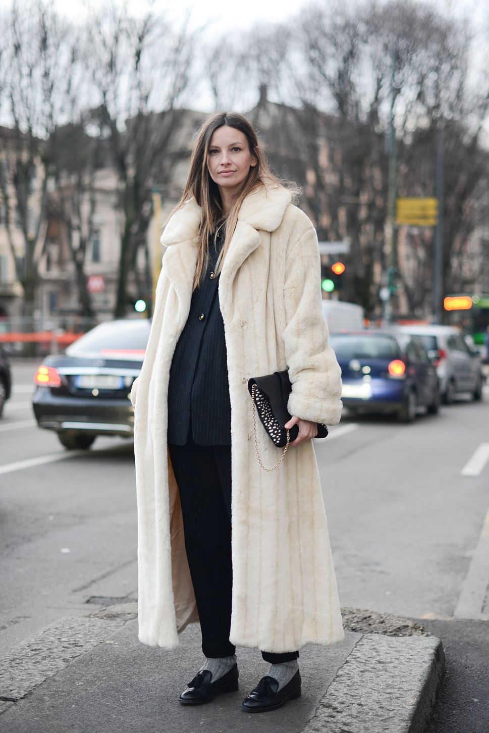 The Dramatic Allure of a Really Long Coat