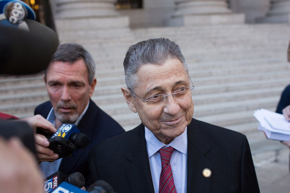 Feds: Sheldon Silver Used His Position to Help His Mistresses