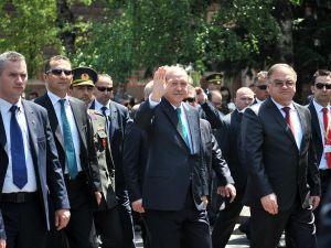 Turkish President, Recep Tayip Erdogan (2ndR)