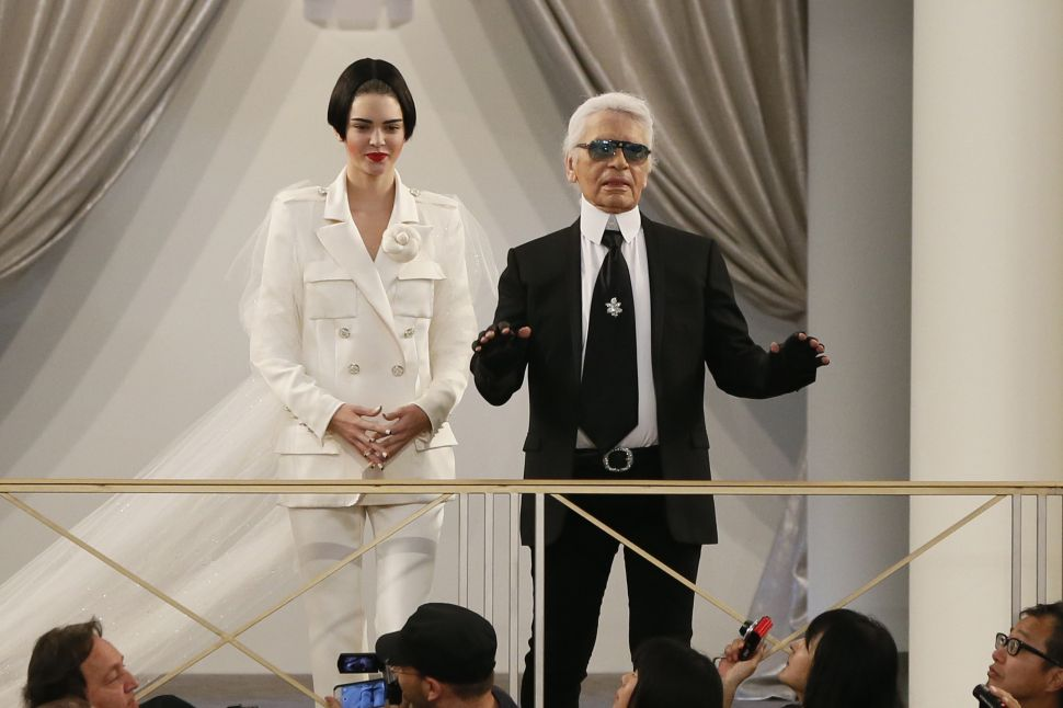 Multitasking Karl Lagerfeld Honored With Award for Outstanding Achievement