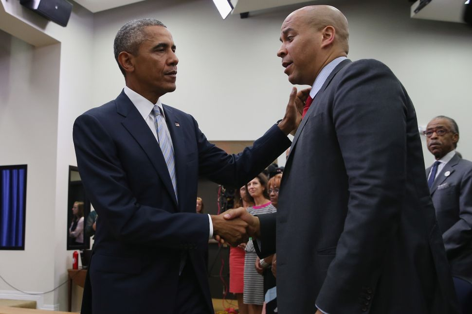 Obama and Booker Iran Deal Already Falling Apart