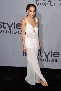 Zoë Kravitz in Calvin Klein Collection (Photo: Getty Images).