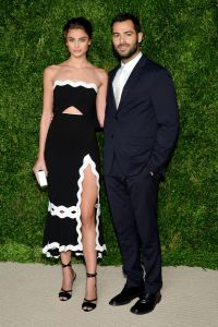 Taylor Marie Hill in Jonathan Simkhai and Jonathan Simkhai (Photo: Getty Images).