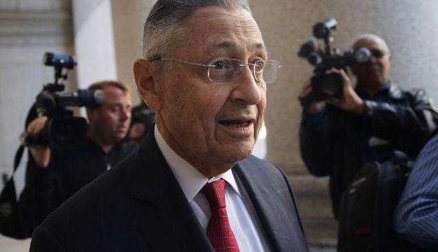 Former New York State Assembly Speaker Sheldon Silver arrives for his trial on November 3, 2015 in New York City. (Photo by Spencer Platt/Getty Images)