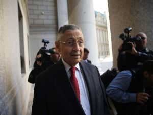 Former Assembly Speaker Sheldon Silver, whose trial continued today in federal court. (Photo: Spencer Platt for Getty Images)