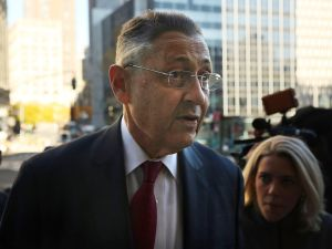 Sheldon Silver at November's jury selection (Photo by Spencer Platt/Getty Images)