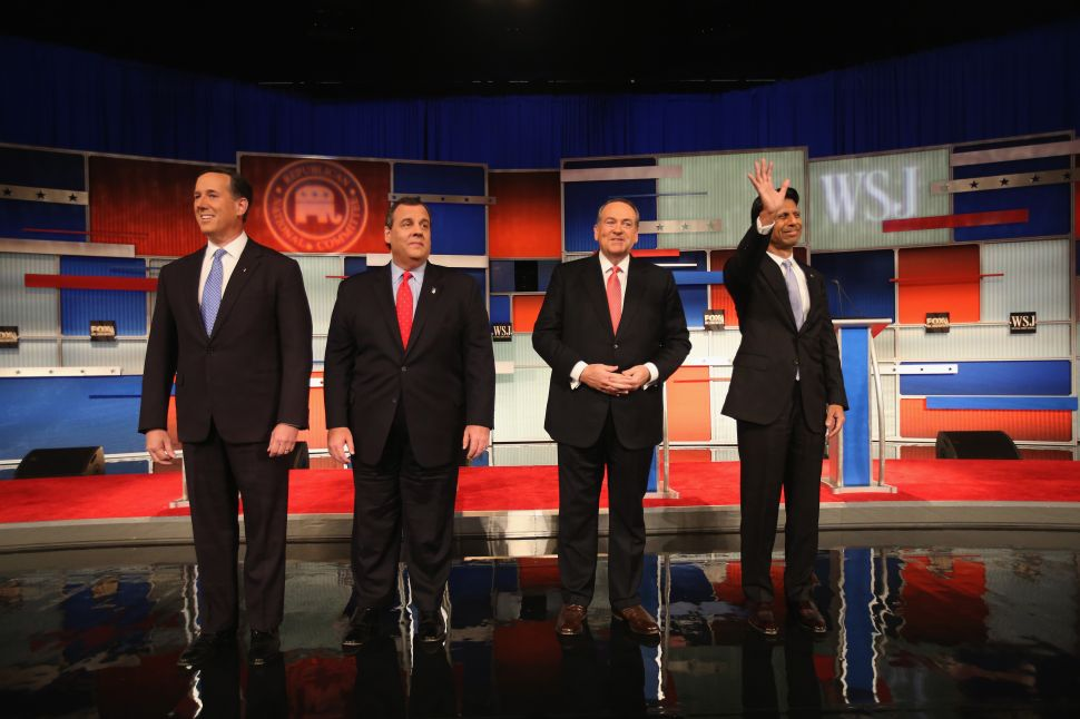 Fantastic Four?: Christie and Three Republicans Clash in Undercard of 4th GOP Debate