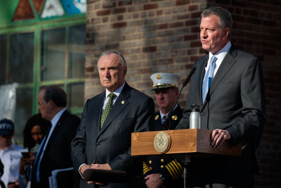 Bill de Blasio Doesn't Think the City Council Is 'Obstructive' and 'Destructive'