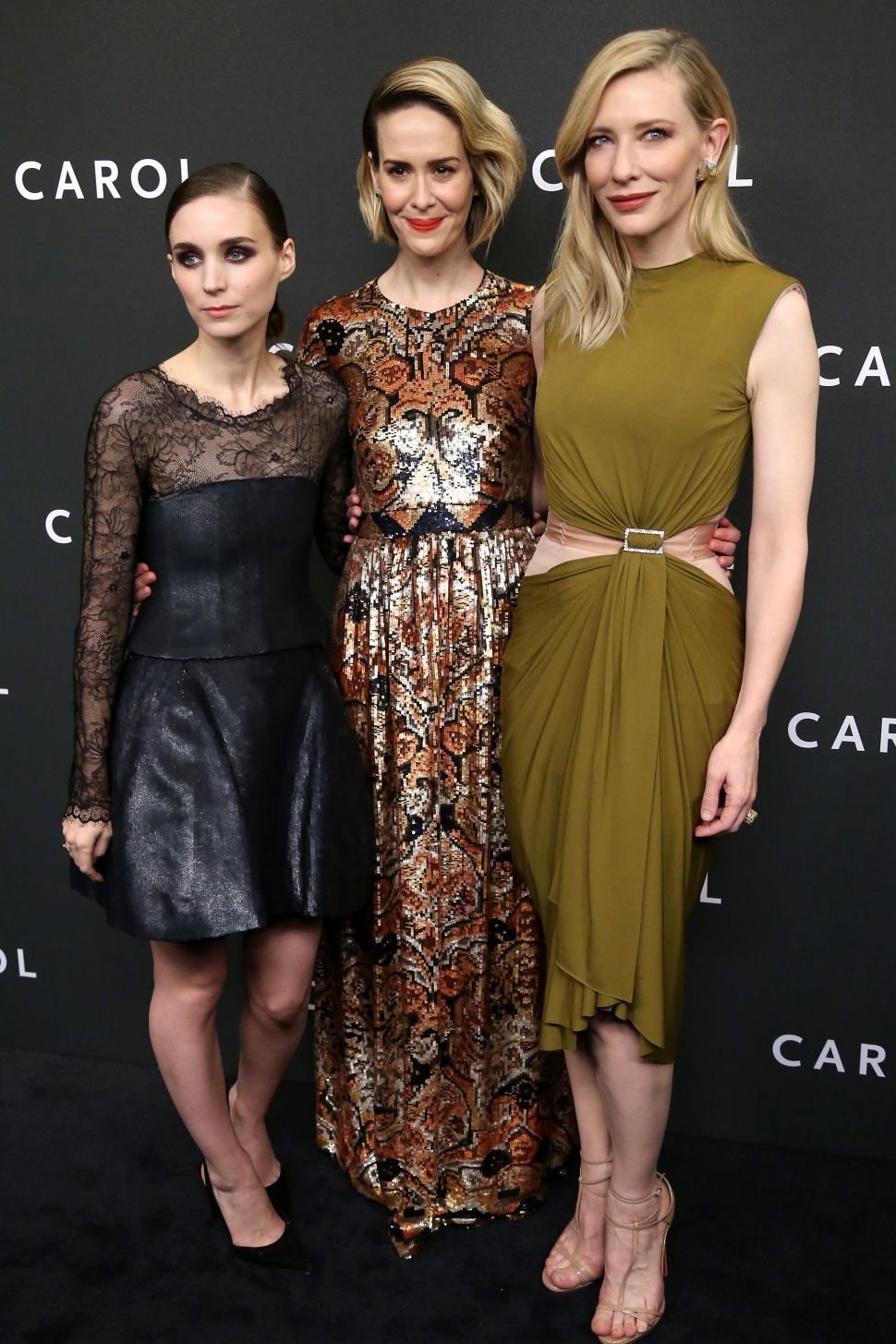 Let Rooney Mara, Cate Blanchett or Sarah Paulson Inspire Your Next Party Outfit