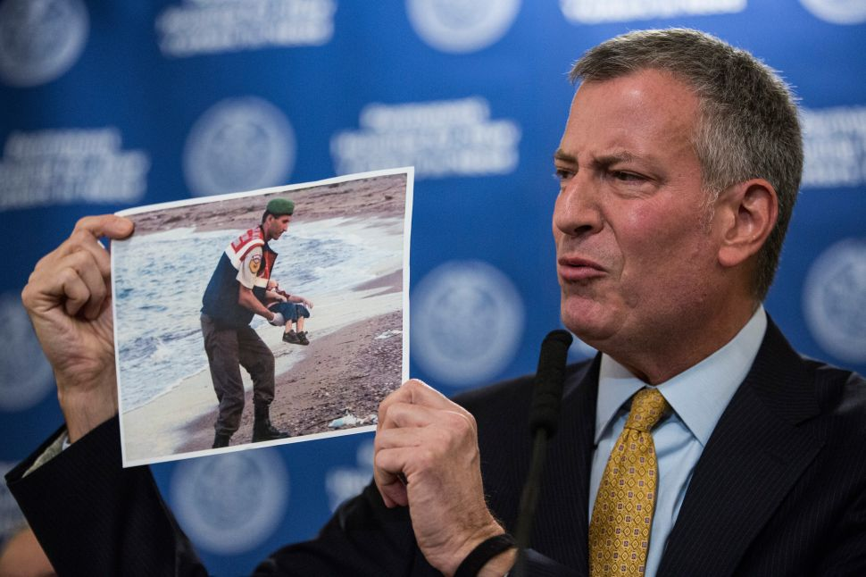 NYC Mayor Blasts Trump's Call for 'Complete Shutdown' on Muslim Immigration