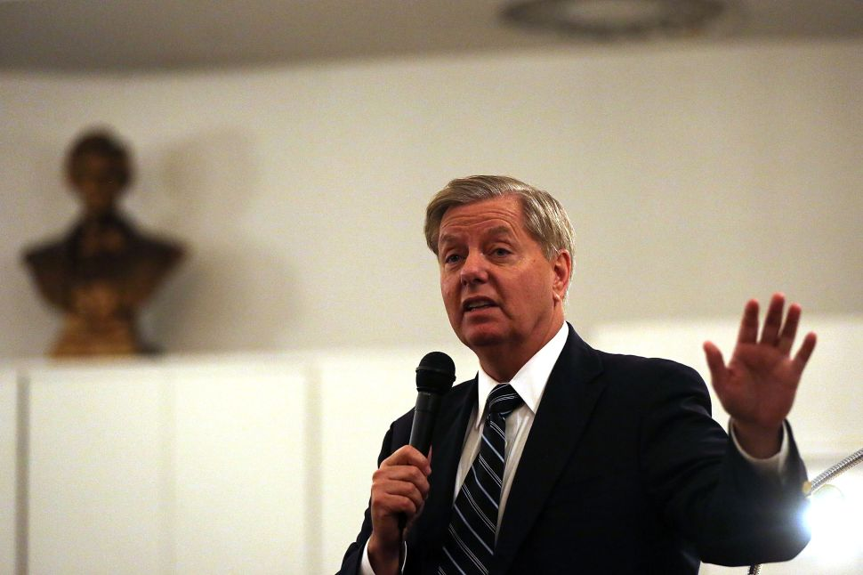 GOP Senator: I Want to 'Kill as Many of These' ISIS 'Bastards as I Can Find'