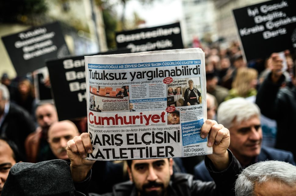 Two Turkish Reporters Arrested for Espionage After Exposing Corruption
