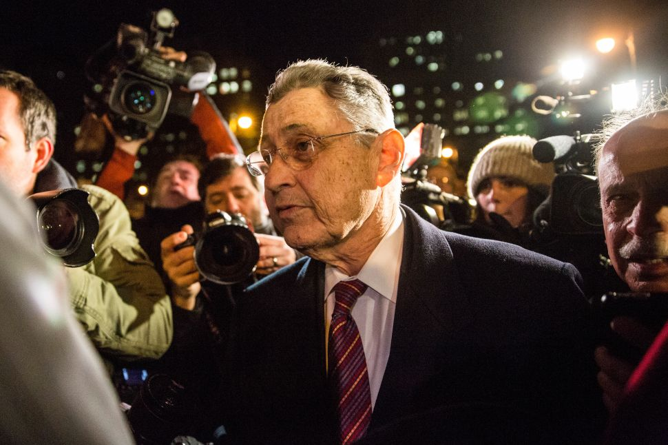 After Guilty Verdict, Sheldon Silver Vows to 'Continue the Legal Fight'