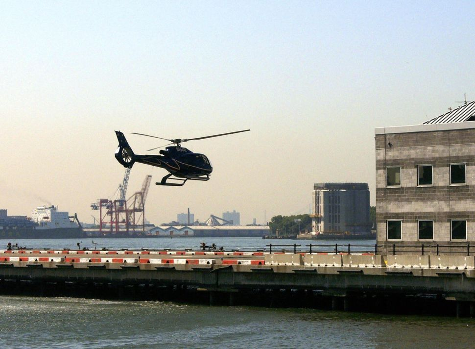 Tourist Choppers Facing Council Regulation—and Port Authority Lawsuit