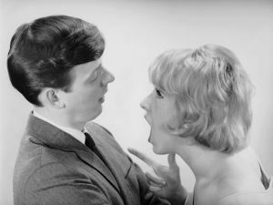 UNITED STATES - CIRCA 1950s: Couple in heated argument. (Photo by George Marks/Retrofile/Getty Images)
