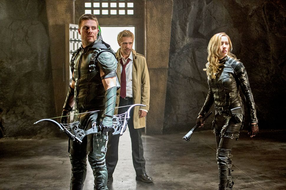 'Arrow,' 'Constantine,' and the Ingredients of a Perfect TV Crossover