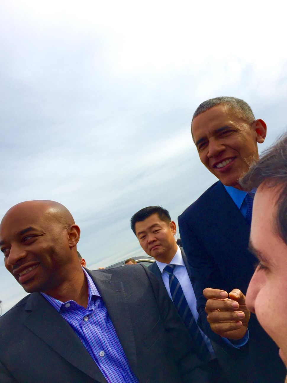PolitickerNJ Scrapbook: Air Force One Drops in on Butler