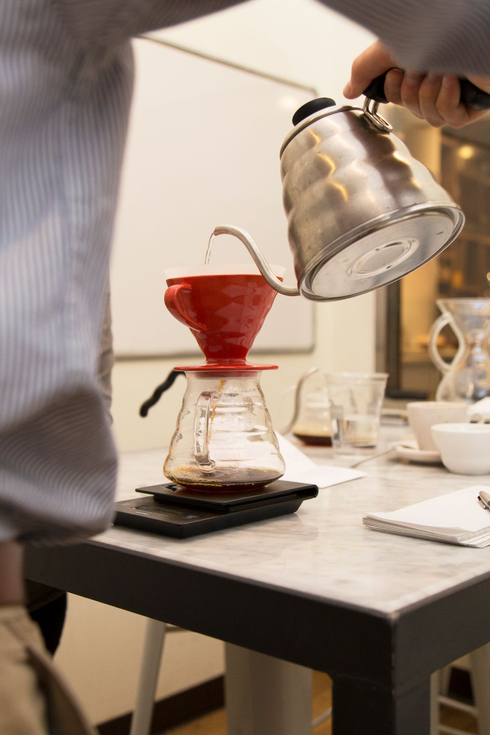 A Course in Home Brewing Shows That a Simple Cup of Coffee Is Anything But