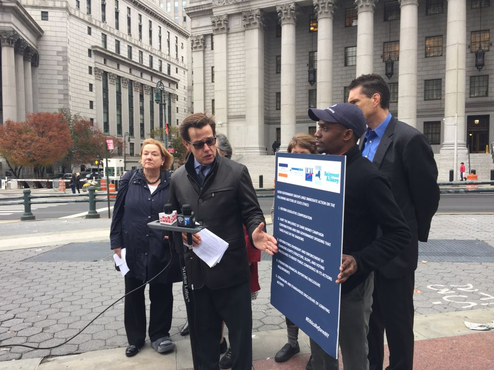 'If Not Now, I'm Not Sure When': Groups Push for Albany Ethics Reform