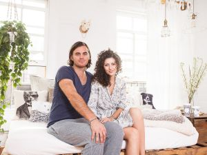 Elisa Marshall and Ben Sormonte (Photo: Emily Assiran for Observer).