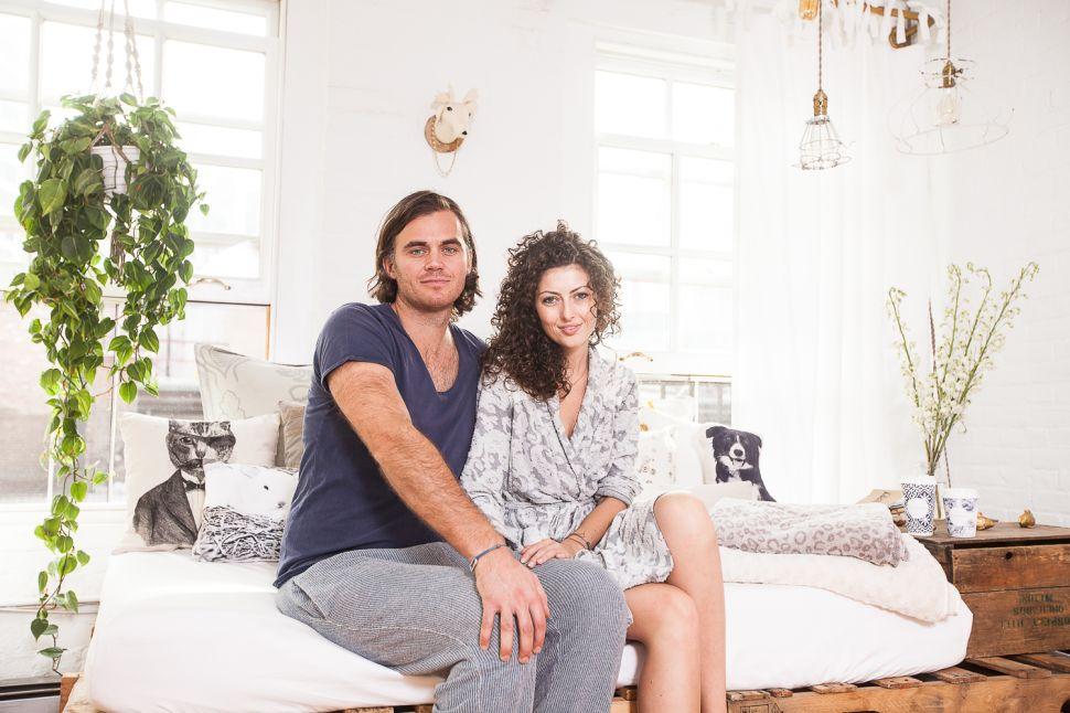 At Home With Maman's Elisa Marshall and Benjamin Sormonte