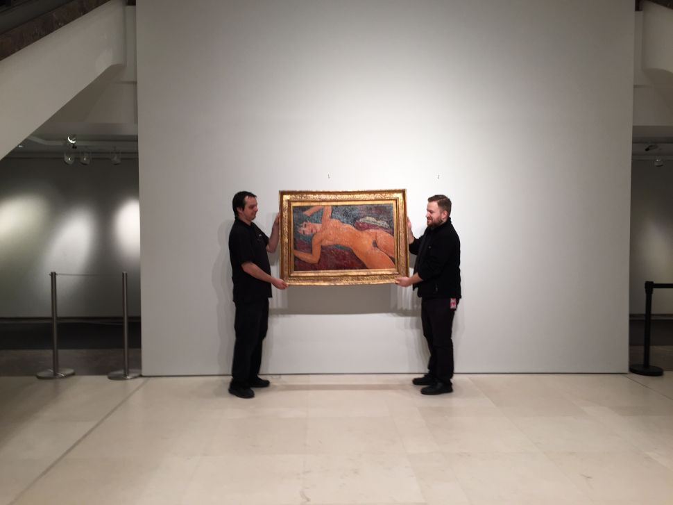 Mayor of Modigliani's Hometown Says Pricey Painting Should Stay in Italy