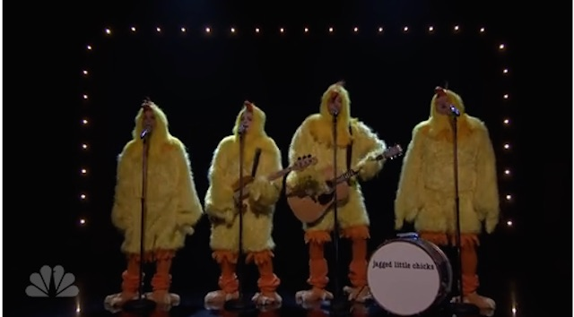And Now for Something Completely Chicken: 'Ironic' Clucked on 'Tonight Show' (Video)