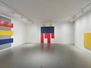 Installation view from the 2008 Whitney Biennial.
