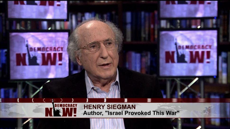 American Jewish Congress Ex-Head Calls Me a Nazi in Hate Rant