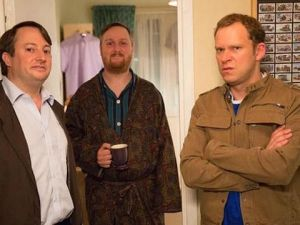 The gang (plus Jerry) is back for Peep Show! (Channel 4)