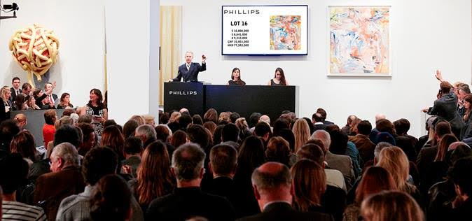 Phillips' Sunday 20th Century/ Contemporary Auction Less Than Lively