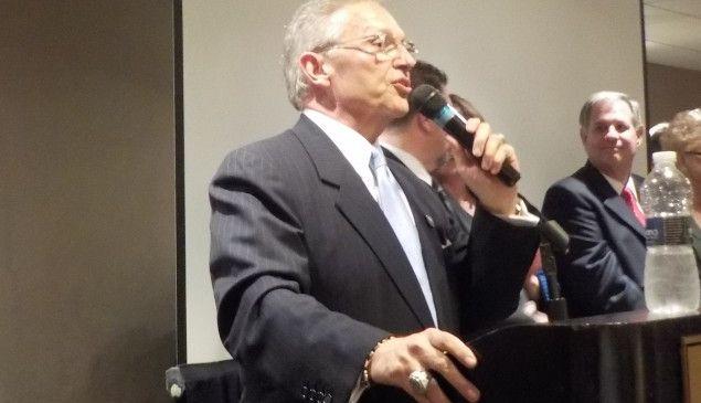 Democratic Chairman Stellato.