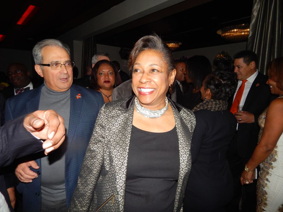 Cunningham Shows up at Fulop's Party, Says She's Uncommitted on Gov's Race