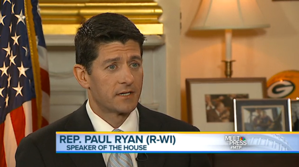 John Roberts of Fox the Only Host to Ask Paul Ryan About the 'Hastert Rule'
