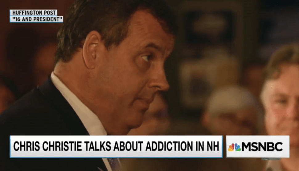 Tales of Addiction From Chris Christie, Ted Cruz, Jeb Bush and Carly Fiorina
