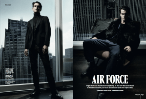 A fashion editorial from the magazine (Photo: Courtesy Wallpaper*).
